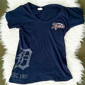 Detroit Tigers fan tee